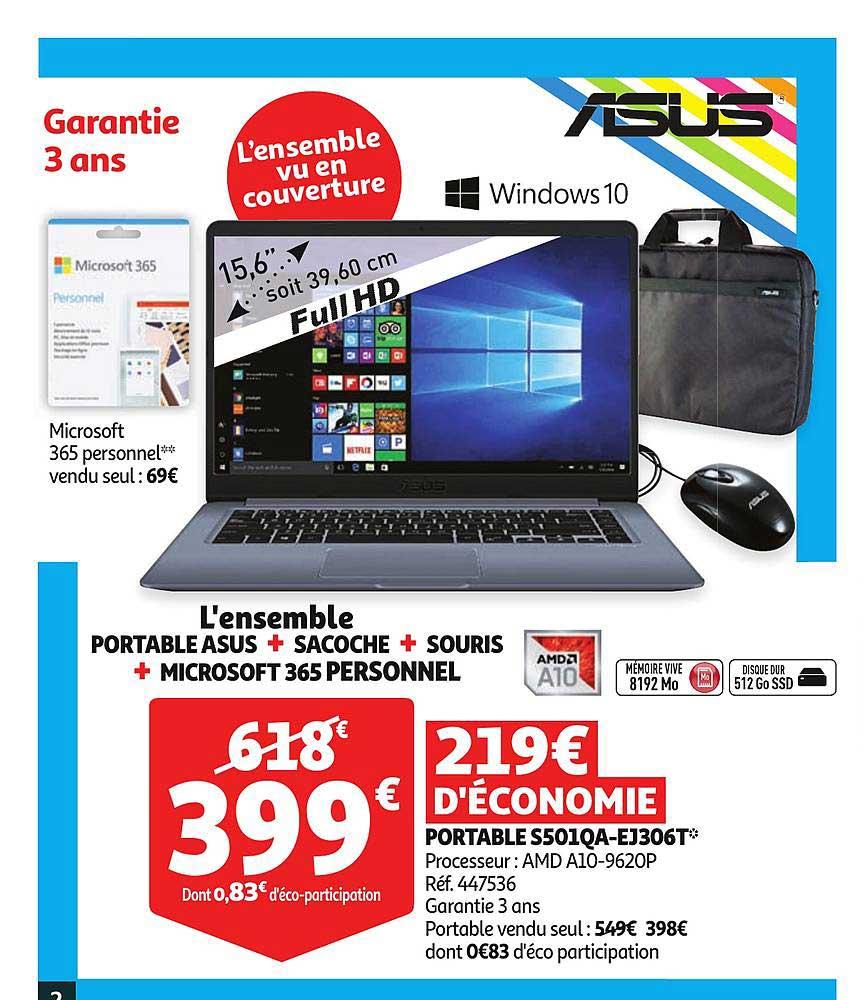 Auchan Portable S501qa Ej306t Asus