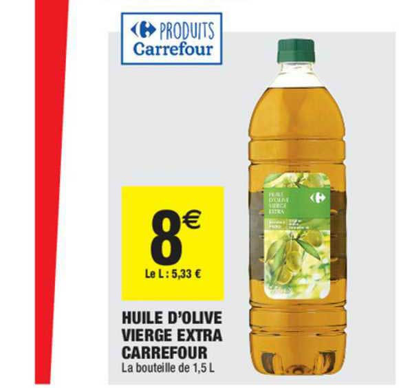 Carrefour Market Huile D'olive Vierge Extra Carrefour