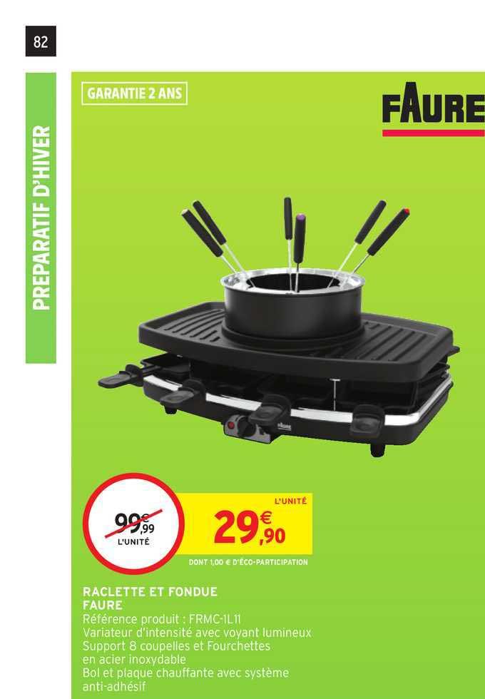 Intermarché Hyper Raclette Et Fondue Faure