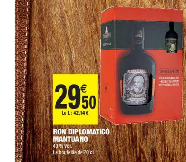 Carrefour Market Ron Diplomatico Mantuano