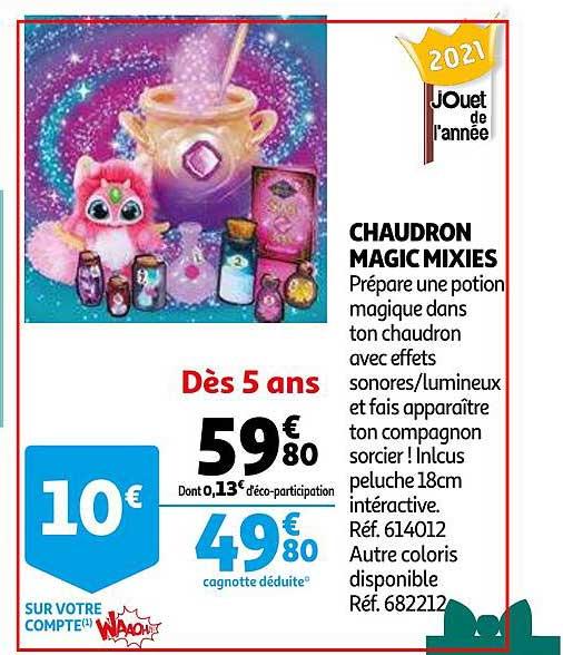 Auchan Chaudron Magic Mixies