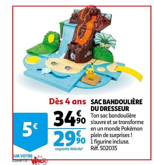 Auchan Sac Bandoulière Du Dresseur