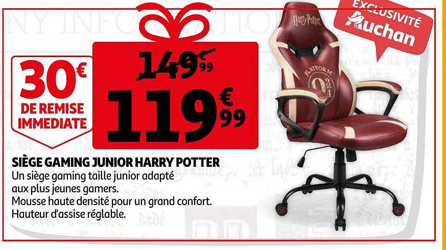 Auchan Siège Gaming Junior Harry Potter
