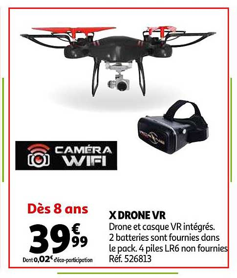 Auchan X Drone Vr