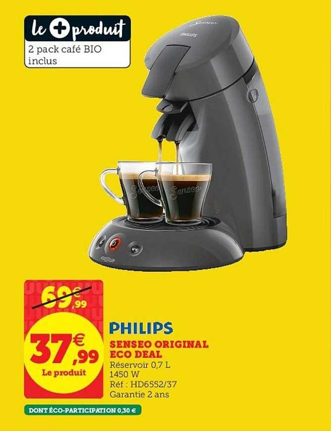 Super U Senseo Original Eco Deal Philips
