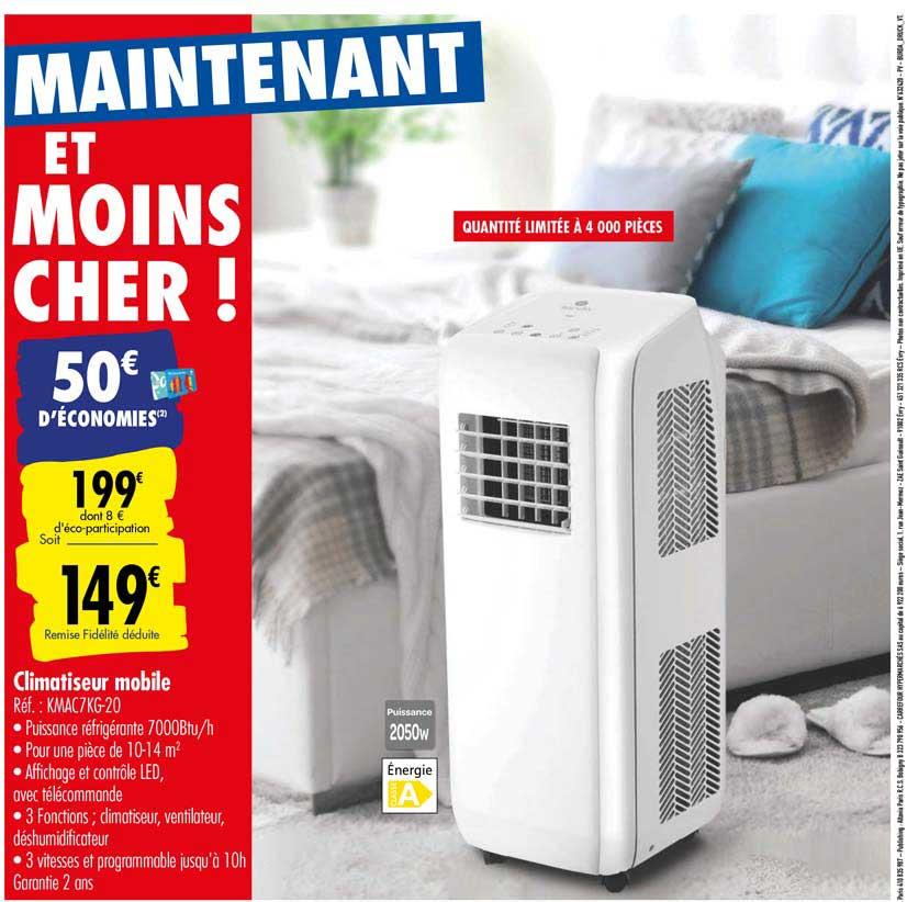 Carrefour Climatiseur Mobile