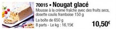 Thiriet Nougat Glacé
