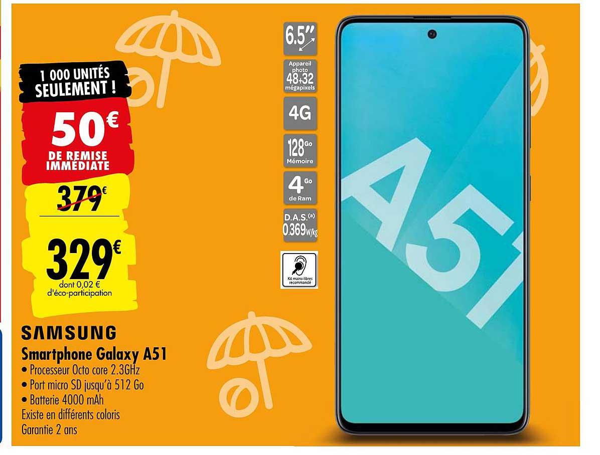 Carrefour Samsung Smartphone Galaxy A51