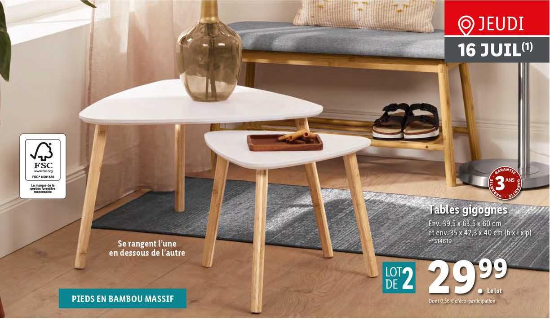 tables gigognes 9725