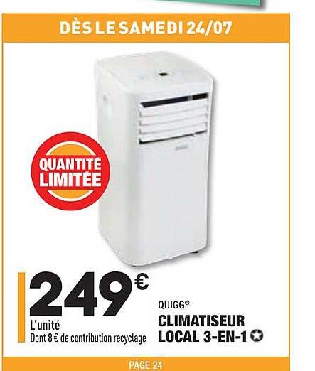 Aldi Climatiseur Local 3-in-1 Quigg