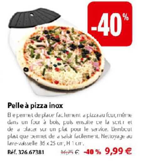 Mathon Pelle à Pizza Inox