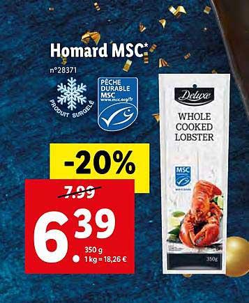 Décoration homard Deluxe