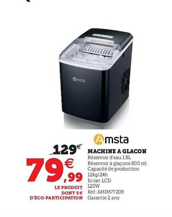 Hyper U Amsta Machine A Glacon