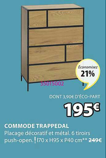 JYSK Commode Trappedal