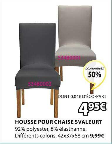 JYSK Housse Pour Chaise Svaleurt