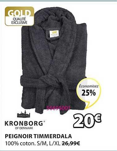 JYSK Peignoir Timmerdala Kronborg