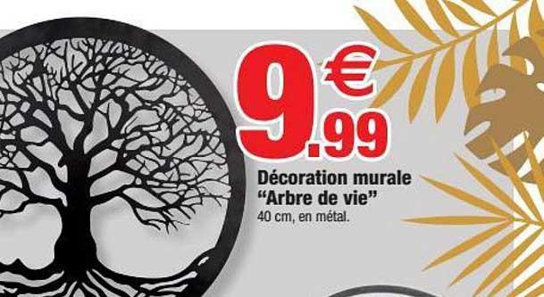 Bazarland Décoration Murale Arbre De Vie