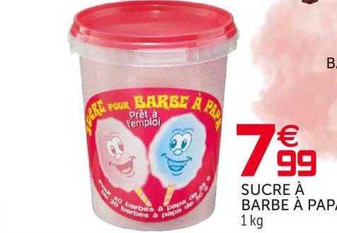 GiFi Sucre à Barbe à Papa