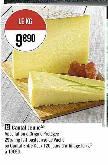 Casino Supermarchés Cantal Jeune