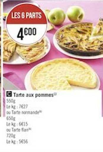Géant Casino Tarte Aux Pommes
