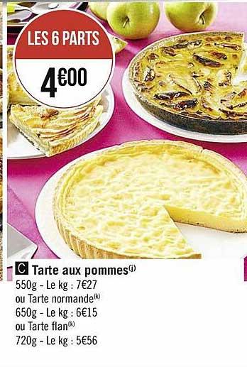 Casino Supermarchés Tarte Aux Pommes