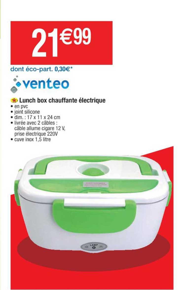 Cora Lunch Box Chauffante électrique Venteo