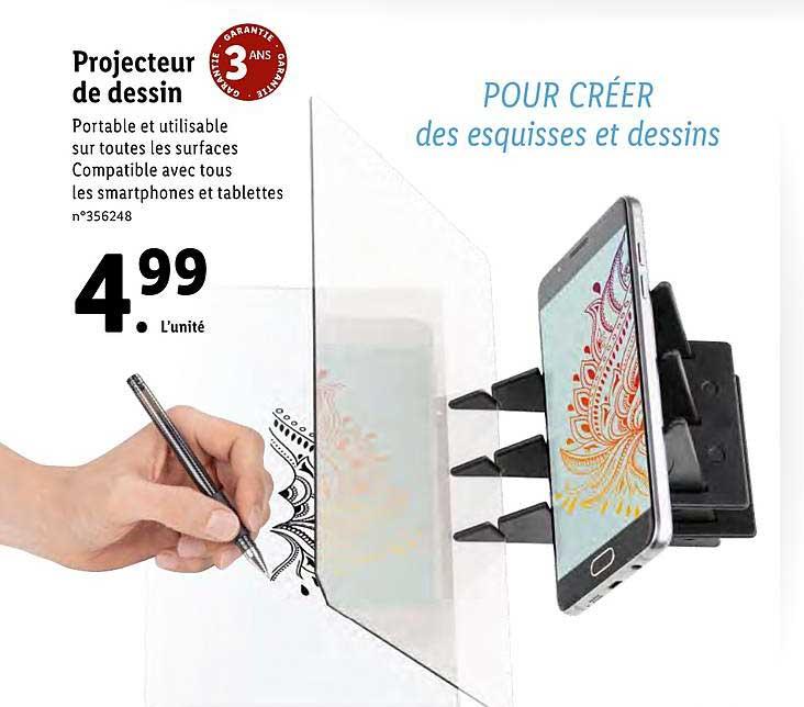 Lidl Projecteur De Dessin
