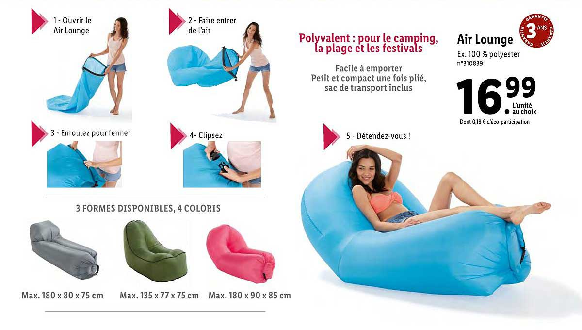 Air lidl lounger angebote The 44