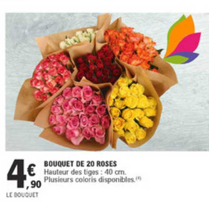 E.Leclerc Bouquet De 20 Roses