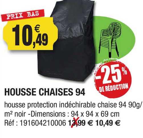 Outiror Housse Chaises 94 -25% De Réduction
