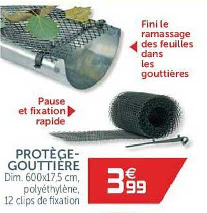 GiFi Protège-gouttière