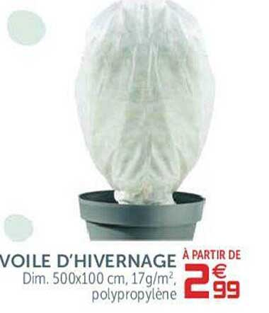 GiFi Voile D'hivernage