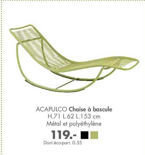 Casa Chaise à Bascule Acapulco