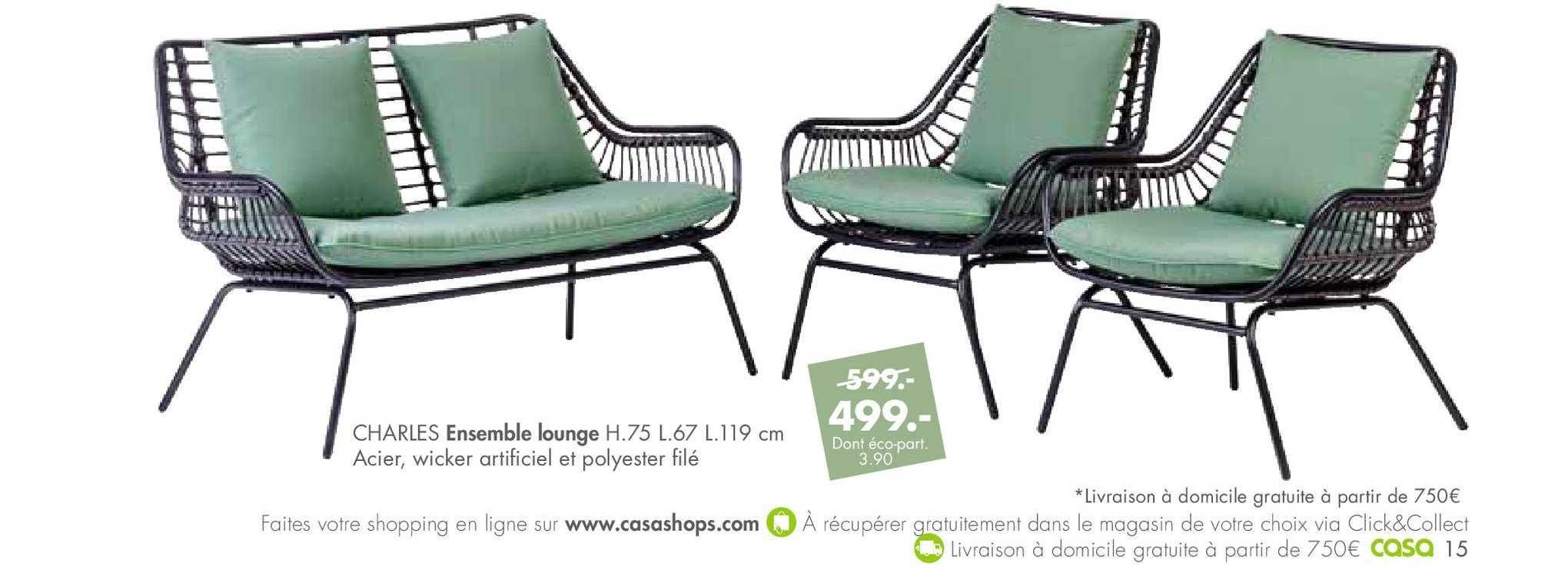 Casa Ensemble Lounge Charles