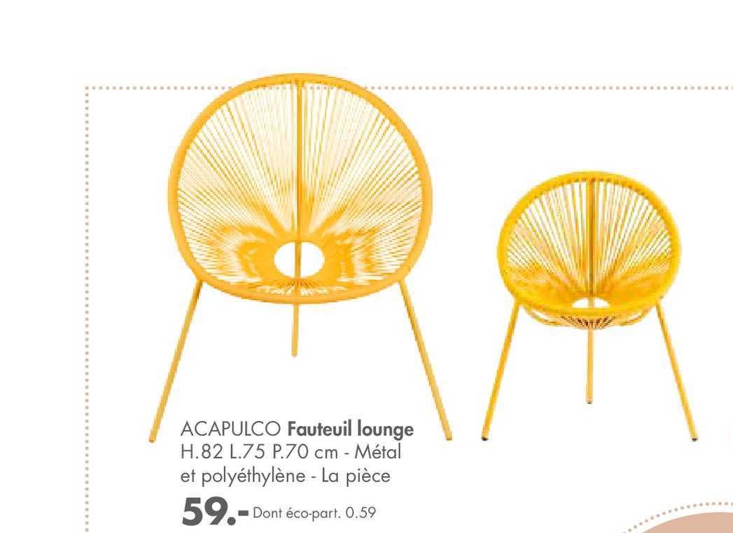 Casa Fauteuil Lounge Acapulco