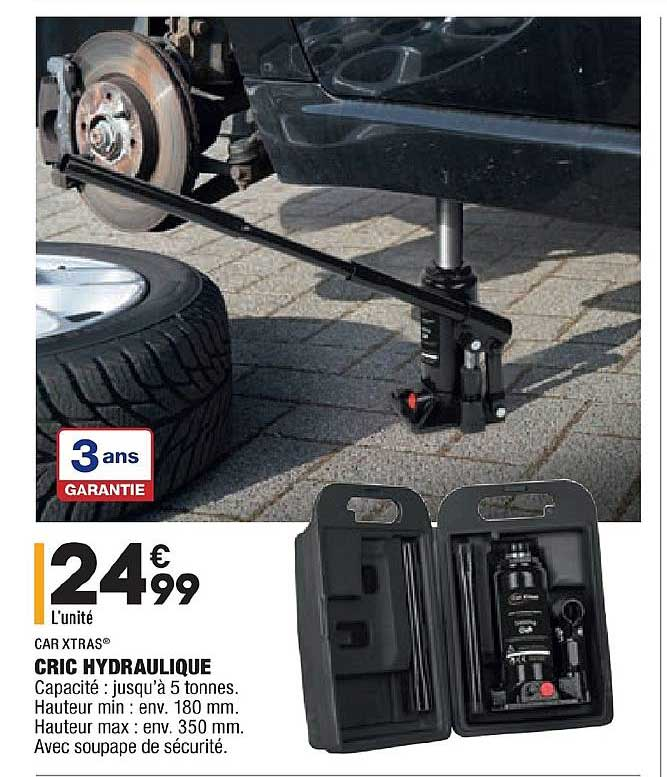 Aldi Cric Hydraulique Car Xtras