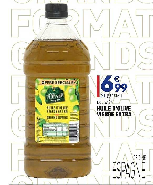 Aldi Huile D'olive Vierge Extra L'olivaé