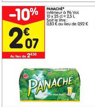 Leader Price Panaché