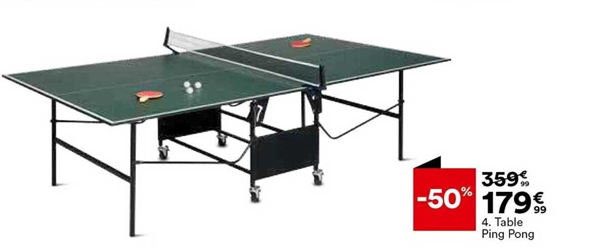 BUT Table Ping Pong