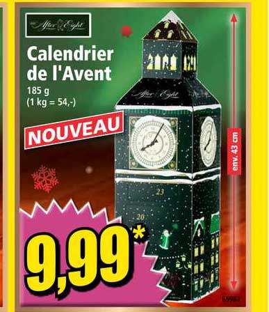 Offre Calendrier De L'avent After Eight chez Norma