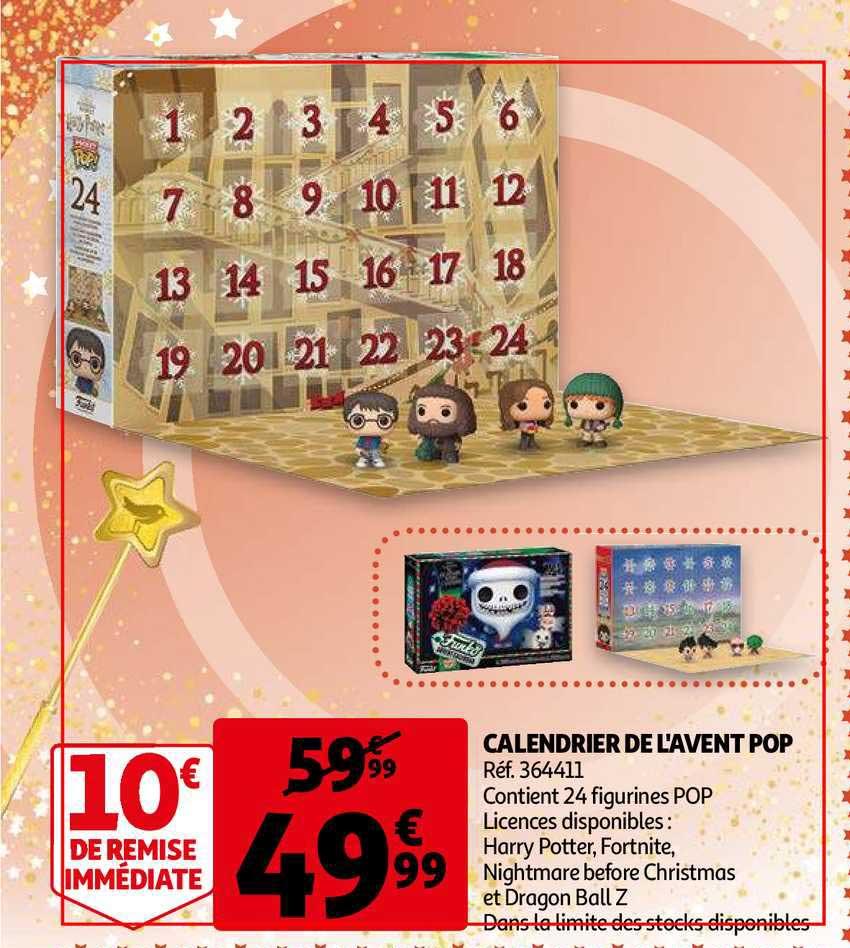 Offre Calendrier De L'avent Pop chez Auchan