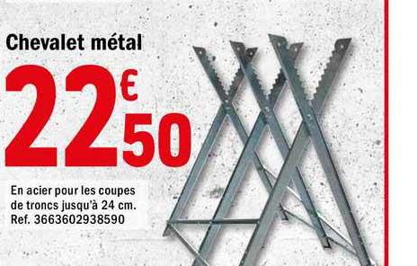 Offre Chevalet Metal Chez Brico Depot