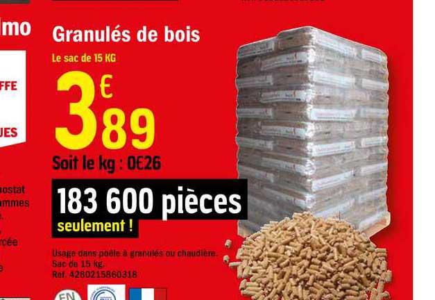 Offre Lot De 10 Panneaux Semi Rigides De Fibre De Bois Chez Brico Depot