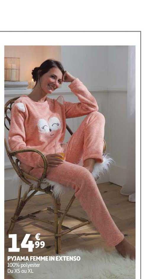 Auchan Direct Pyjama Femme In Extenso
