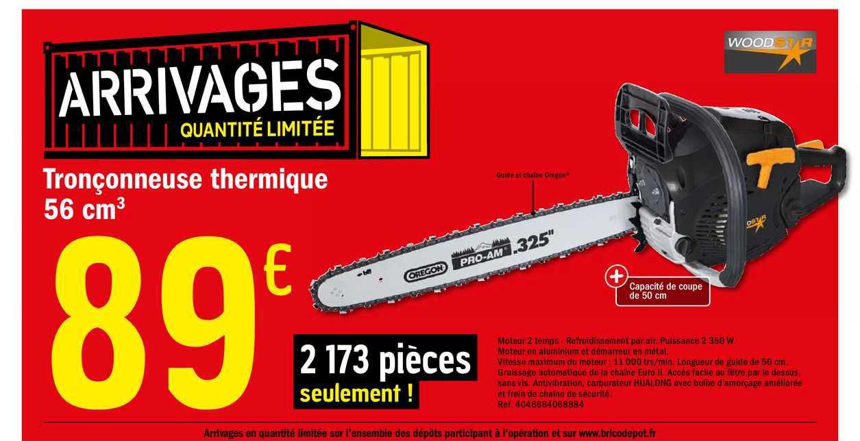 Offre Souffleur Thermique 51 7 Cm3 Chez Brico Depot