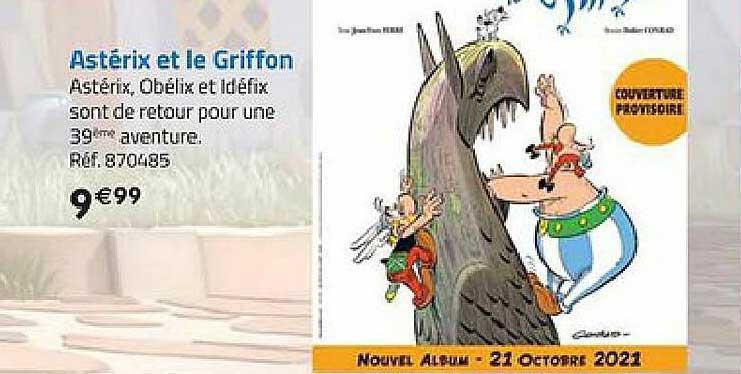 La Grande Récré Astérix Et Le Griffon