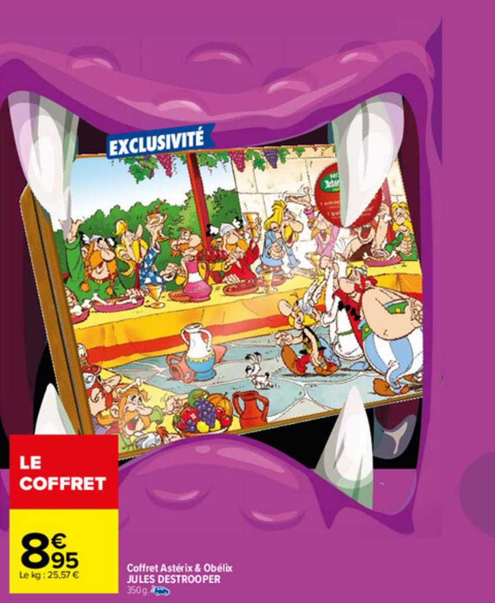Carrefour Coffret Astérix & Obélix Jules Destrooper