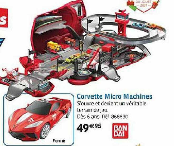 La Grande Récré Corvette Micro Machines
