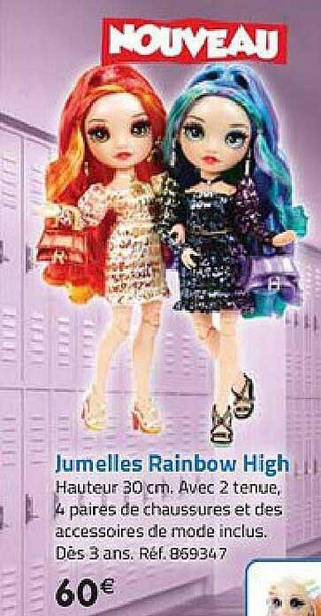 La Grande Récré Jumelles Rainbow High