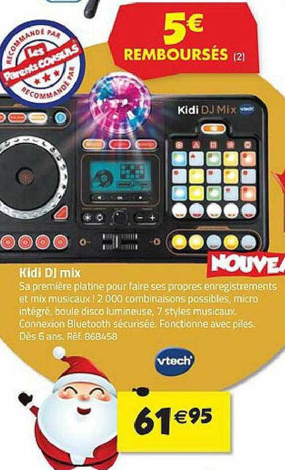 La Grande Récré Kidi Dj Mix Vtech